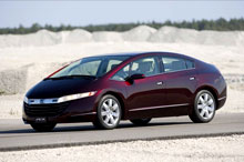Концепт-кар Honda FCX на топливных элементах уже на дорогах Европы - Honda